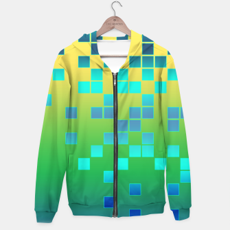 Thumbnail image of Vector illustration Abstract square Hoodie, Live Heroes