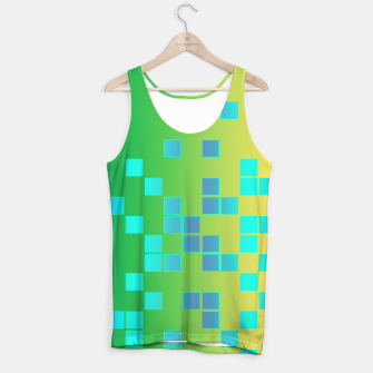 Thumbnail image of Vector illustration Abstract square Tank Top, Live Heroes