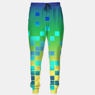 Thumbnail image of Vector illustration Abstract square Sweatpants, Live Heroes