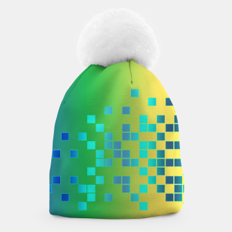 Thumbnail image of Vector illustration Abstract square Beanie, Live Heroes