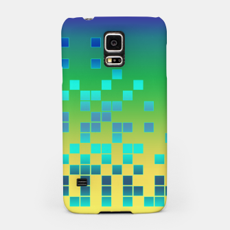 Thumbnail image of Vector illustration Abstract square Samsung Case, Live Heroes