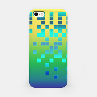 Thumbnail image of Vector illustration Abstract square iPhone Case, Live Heroes