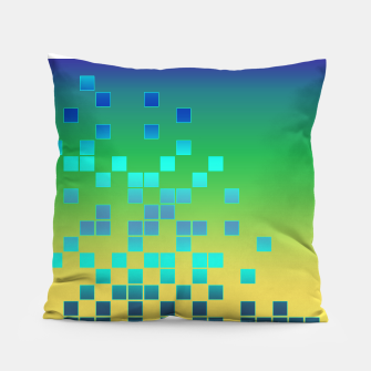 Thumbnail image of Vector illustration Abstract square Pillow, Live Heroes