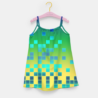 Thumbnail image of Vector illustration Abstract square Girl's Dress, Live Heroes