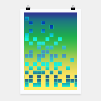 Thumbnail image of Vector illustration Abstract square Poster, Live Heroes