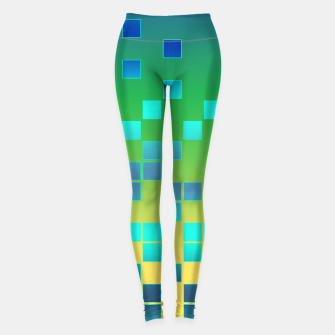Thumbnail image of Vector illustration Abstract square Leggings, Live Heroes