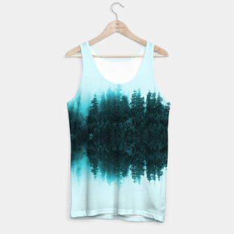Cloudy Forest Tank Top Bild der Miniatur