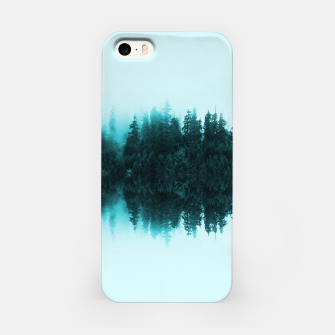 Cloudy Forest iPhone Case Bild der Miniatur