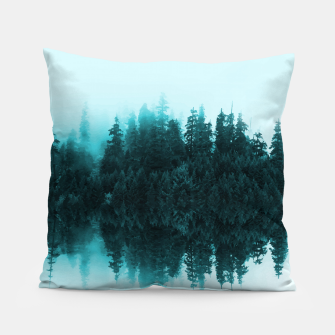 Cloudy Forest Pillow Bild der Miniatur