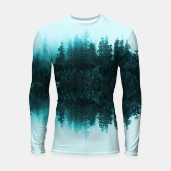 Thumbnail image of Cloudy Forest Longsleeve Rashguard , Live Heroes