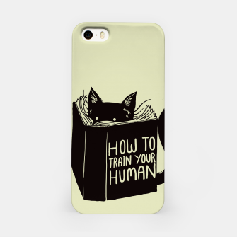 Imagen en miniatura de How to train your human iPhone Case, Live Heroes