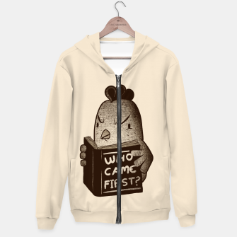 Chicken Who Came First Hoodie imagen en miniatura