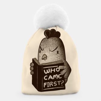 Chicken Who Came First Beanie imagen en miniatura