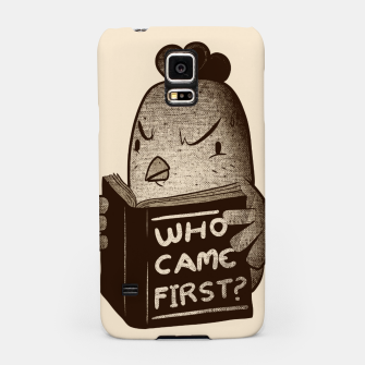Chicken Who Came First Samsung Case imagen en miniatura