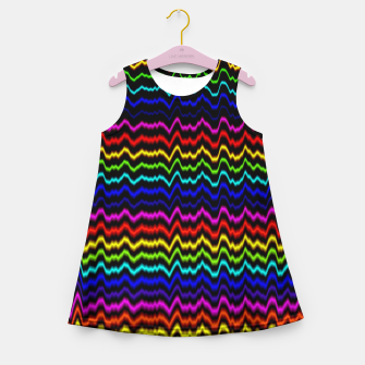 Miniatur coherence Girl's Summer Dress, Live Heroes