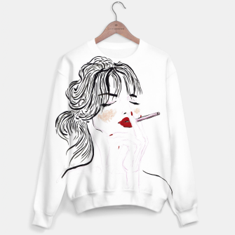 Thumbnail image of Jeanne__Fashion Illustration Sweater, Live Heroes