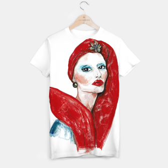 Thumbnail image of Marc Jacobs__Fashion Illustration T-shirt, Live Heroes