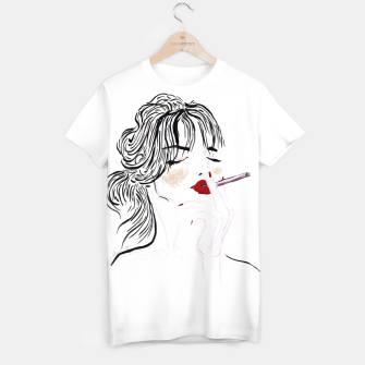Thumbnail image of Jeanne__Fashion Illustration T-shirt, Live Heroes