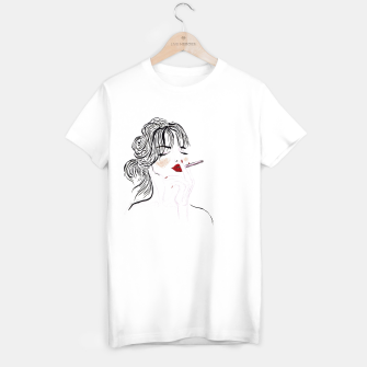 Thumbnail image of Jeanne__Fashion Illustration T-shirt regular, Live Heroes