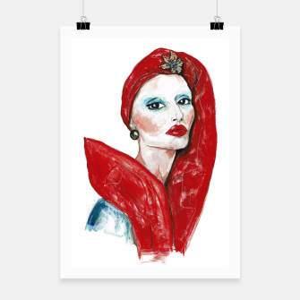 Thumbnail image of Marc Jacobs__Fashion Illustration Poster, Live Heroes