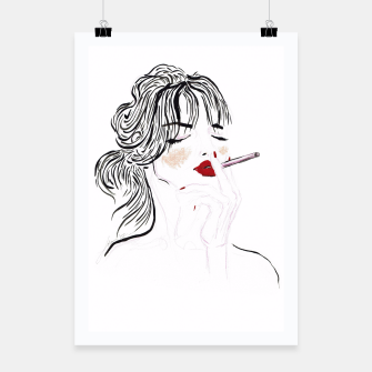 Thumbnail image of Jeanne__Fashion Illustration Poster, Live Heroes