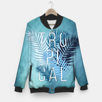 Thumbnail image of Tropical Typo College-Jacke, Live Heroes