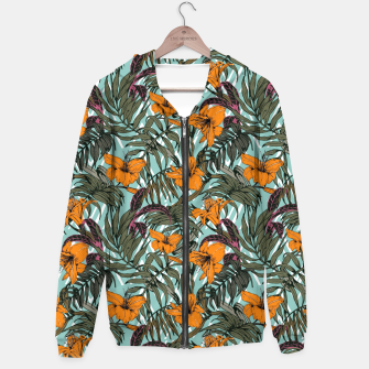 Thumbnail image of Pattern Delicate botanical jungle Sudadera con capucha, Live Heroes
