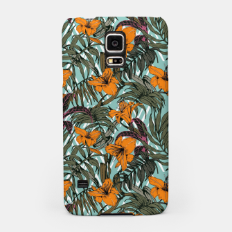 Thumbnail image of Pattern Delicate botanical jungle Carcasa por Samsung, Live Heroes