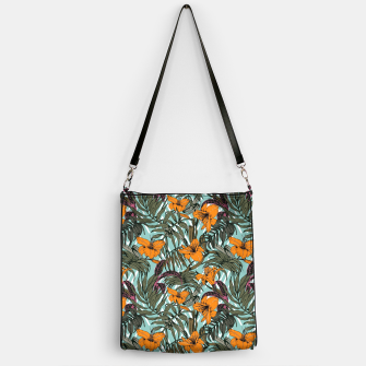Thumbnail image of Pattern Delicate botanical jungle Bolso, Live Heroes