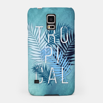Thumbnail image of Tropical Typo Handyhülle für Samsung, Live Heroes