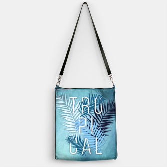 Thumbnail image of Tropical Typo Handtasche, Live Heroes