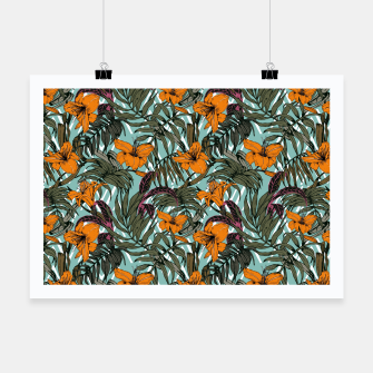 Thumbnail image of Pattern Delicate botanical jungle Cartel, Live Heroes