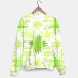 Miniature de image de Intersecting Lines Pattern Design Sweater, Live Heroes