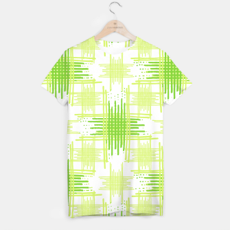 Miniature de image de Intersecting Lines Pattern Design T-shirt, Live Heroes