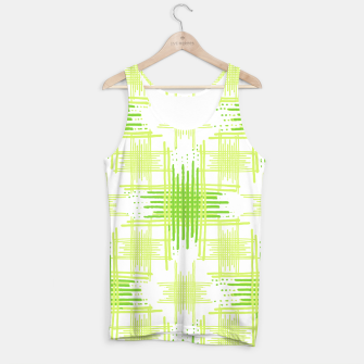 Miniature de image de Intersecting Lines Pattern Design Tank Top, Live Heroes