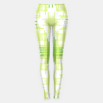 Miniature de image de Intersecting Lines Pattern Design Leggings, Live Heroes