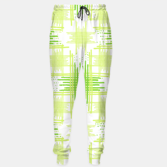 Miniature de image de Intersecting Lines Pattern Design Sweatpants, Live Heroes