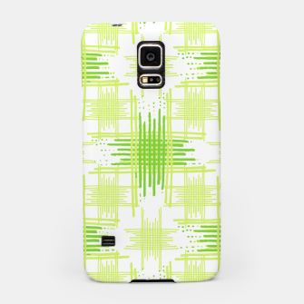Miniature de image de Intersecting Lines Pattern Design Samsung Case, Live Heroes