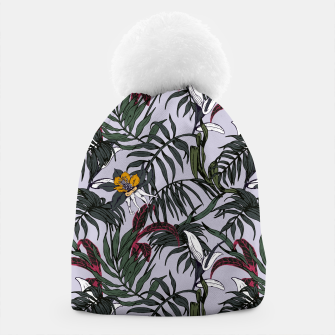 Thumbnail image of Delicate botanical jungle pattern Gorro, Live Heroes