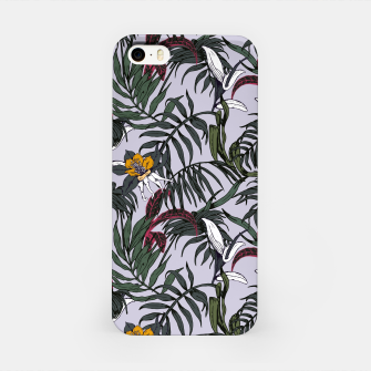 Thumbnail image of Delicate botanical jungle pattern Carcasa por Iphone, Live Heroes