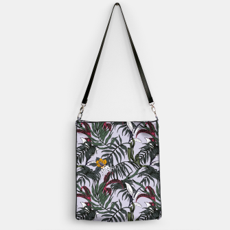 Thumbnail image of Delicate botanical jungle pattern Bolso, Live Heroes