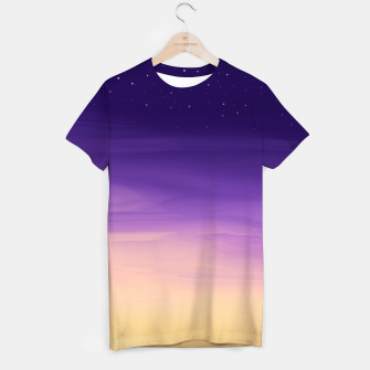 Thumbnail image of Colorful Sunset T-shirt, Live Heroes