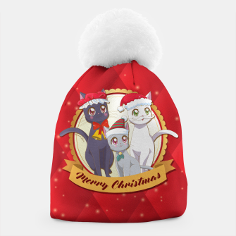 Thumbnail image of Merry Xmas Cats! Beanie, Live Heroes