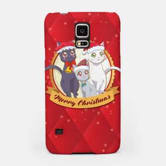 Thumbnail image of Merry Xmas Cats! Samsung Case, Live Heroes