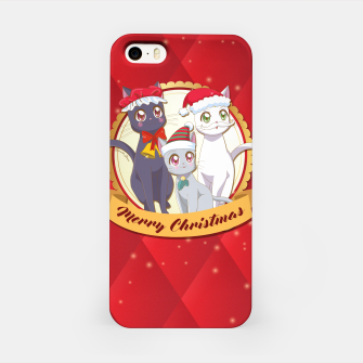 Thumbnail image of Merry Xmas Cats! iPhone Case, Live Heroes