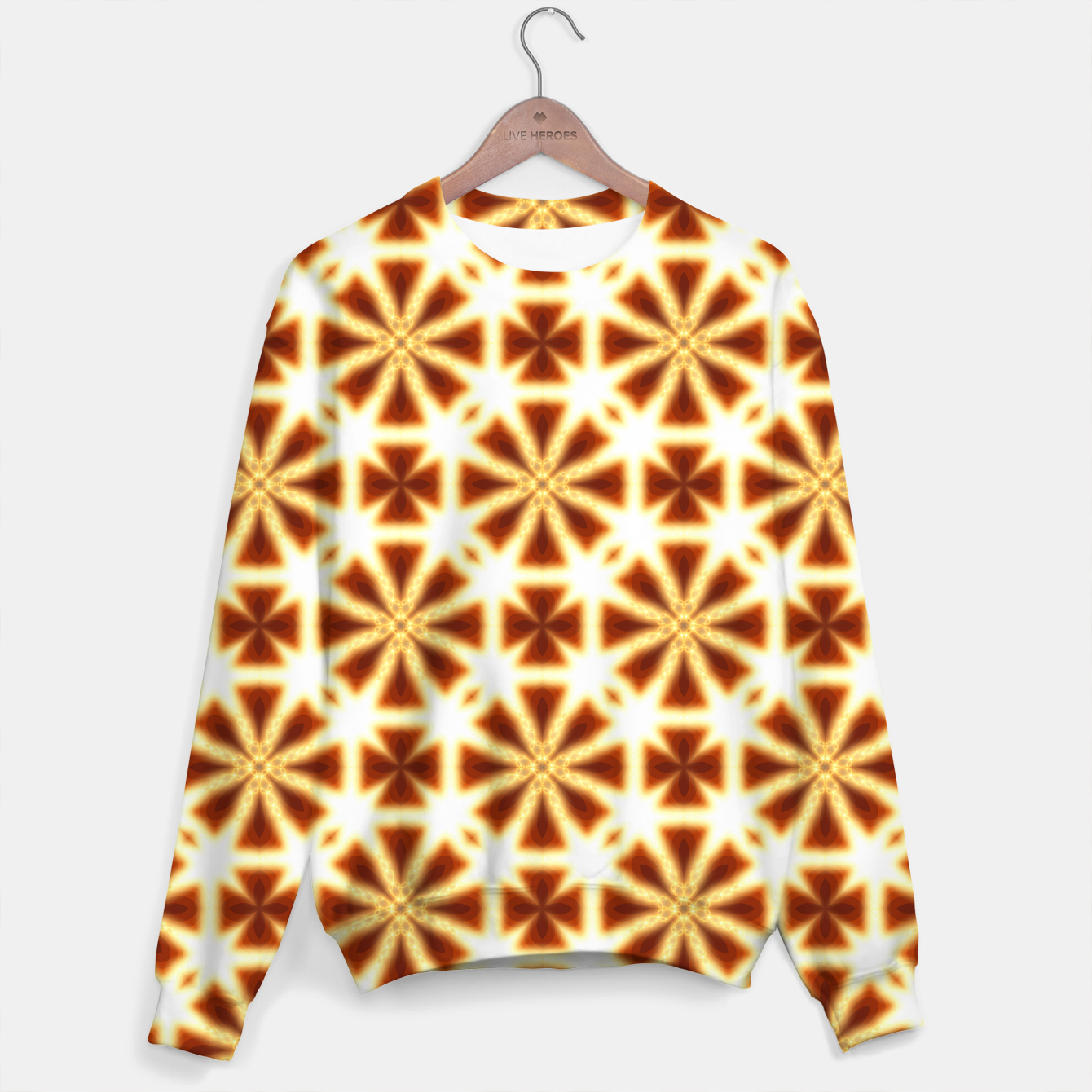 Image of Spiraltastic Sweater for Men - Live Heroes