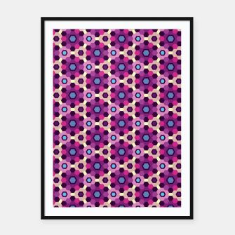 Thumbnail image of Geometric Web 02 Framed poster, Live Heroes