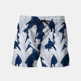 Miniature de image de Frost Flower Platinum and Blue Swim Shorts, Live Heroes