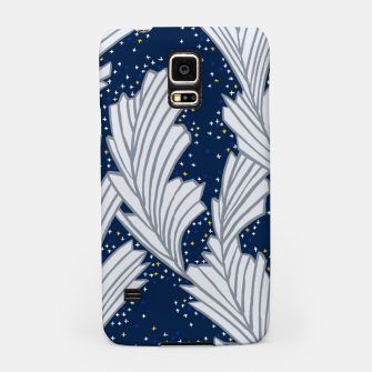 Miniature de image de Frost Flower Platinum and Blue Samsung Case, Live Heroes