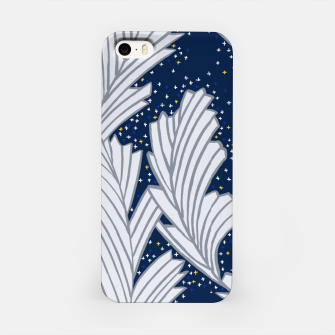 Miniature de image de Frost Flower Platinum and Blue iPhone Case, Live Heroes